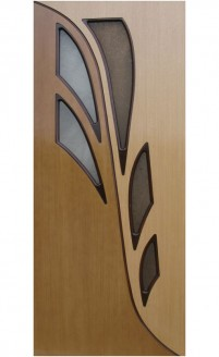 Шпонированная дверь Архидея ГО
