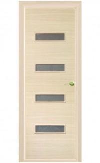 Шпонированная дверь с багетной рамкой Малевич 1