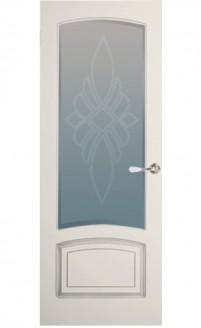 Патинированная дверь Цецилия-С1