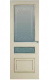 Патинированная дверь Александрия С-2