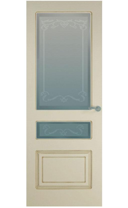 """Патинированная дверь  <br> """"Александрия С-2"""""""