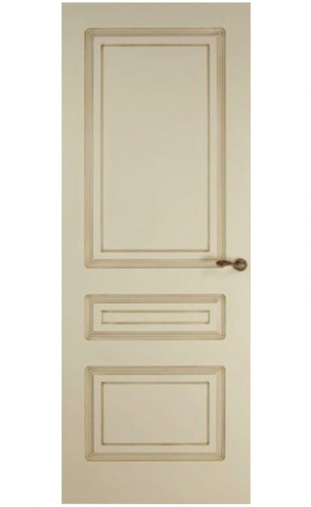 Патинированная дверь Александрия