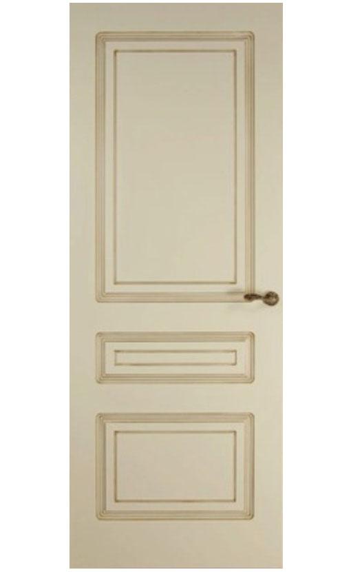 """Патинированная дверь  <br> """"Александрия"""""""