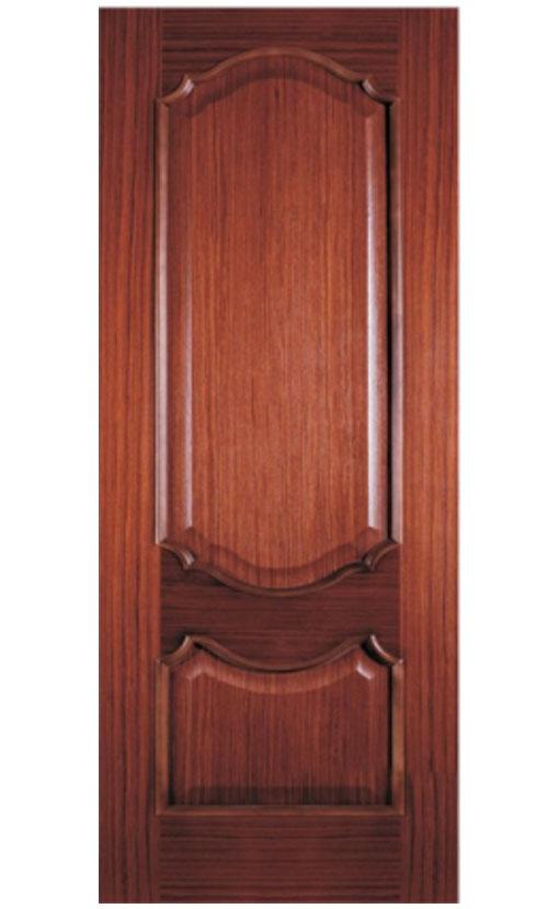 Шпонированная дверь с багетной рамкой Ампир 2
