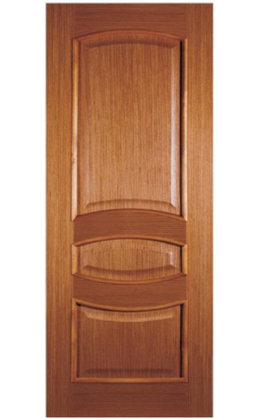 Шпонированная дверь с багетной рамкой Ампир 4