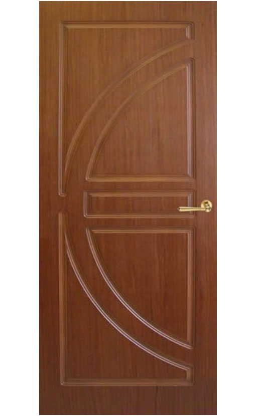 Шпонированная дверь Евро