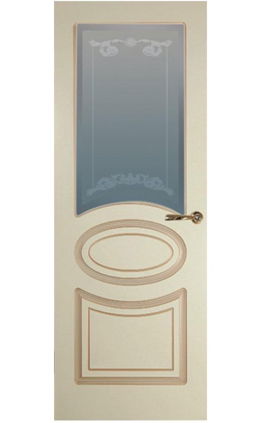 """Патинированная дверь  <br> """"Лутеция-С1"""""""