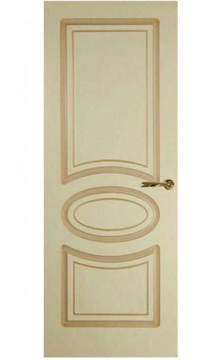 Патинированная дверь Лутеция