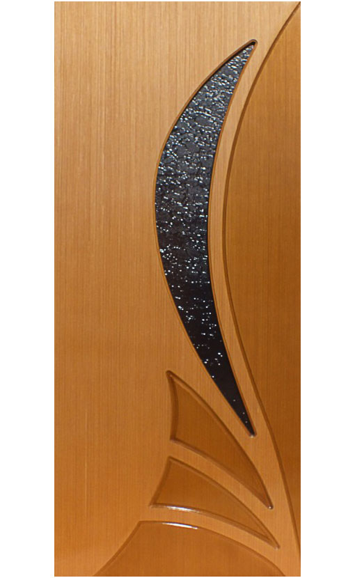 Шпонированная дверь Мадрид ГО
