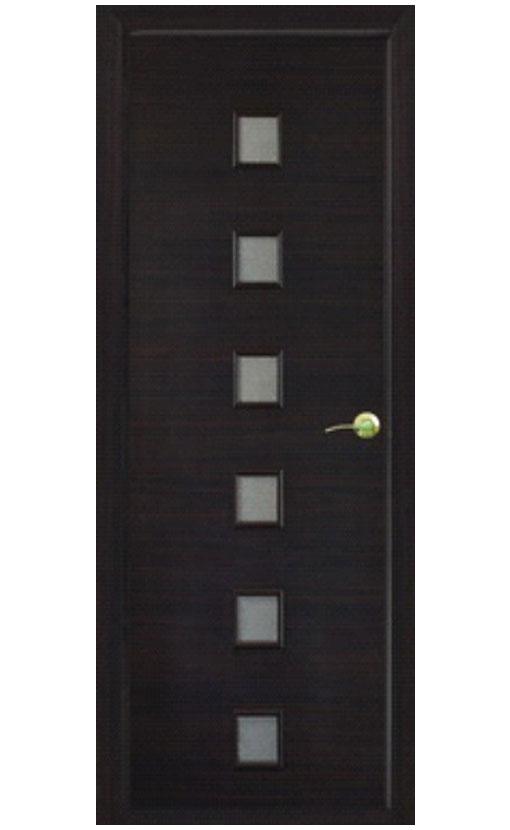 """Шпонированная дверь с багетной рамкой """"Малевич 2"""""""