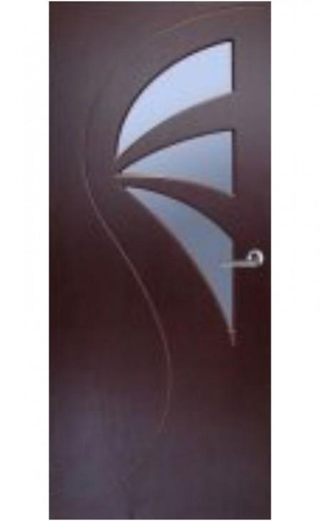 Шпонированная дверь Натали ГО