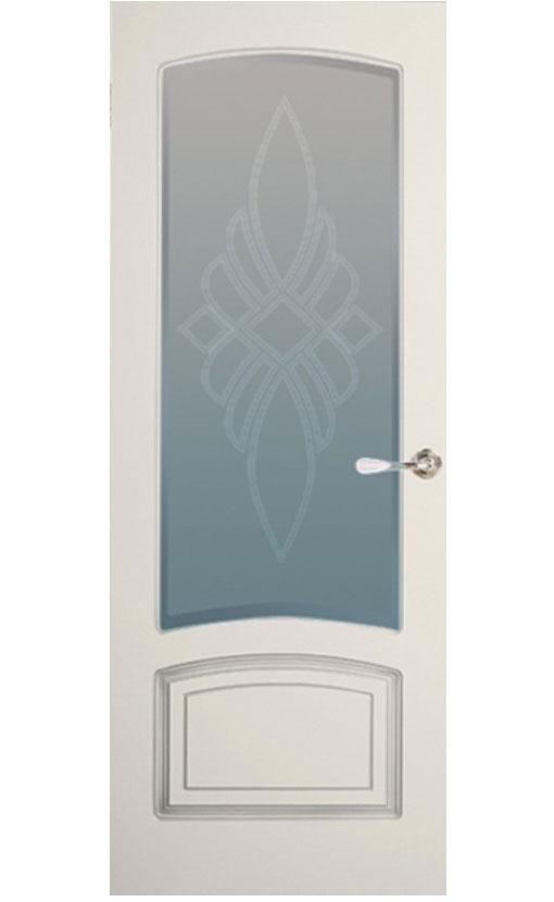 """Патинированная дверь  <br> """"Цецилия-С1"""""""