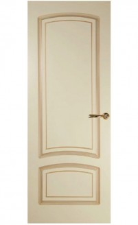 Патинированная дверь Цецилия