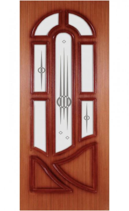 Шпонированная дверь Виктория ГО