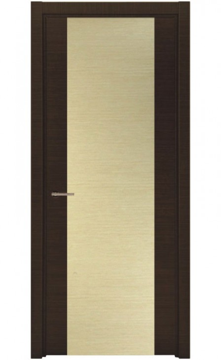 Деревянная входная дверь Италия Беленый Дуб Венге
