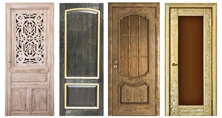 Патинированные двери